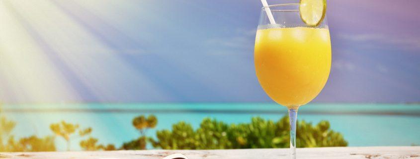 Sonnenschutz-Cocktail