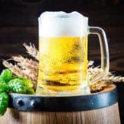 Bierkrug Hopfen